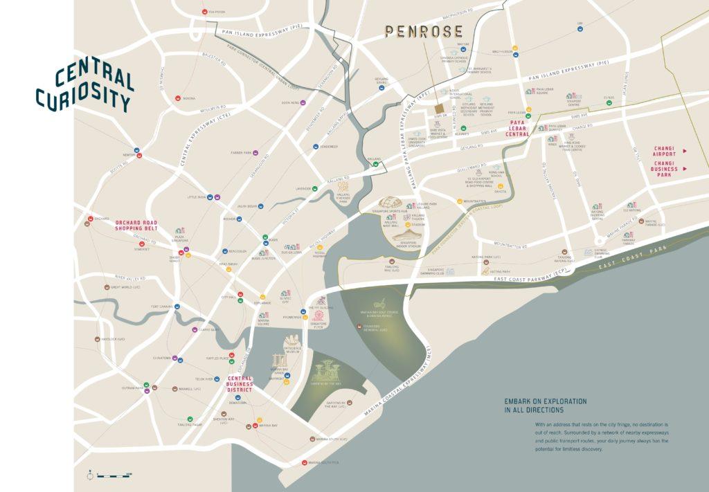 Penrose Location Map